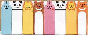 cute animals bookmark stickers Post-it - Sticky Notes ...