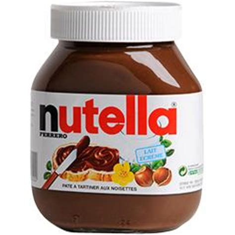 nutella pate a tartiner aux noisettes le pot de 825 gr tous les produits miels p 226 tes 224