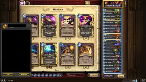 currrent state of handlock tgt competitivehs