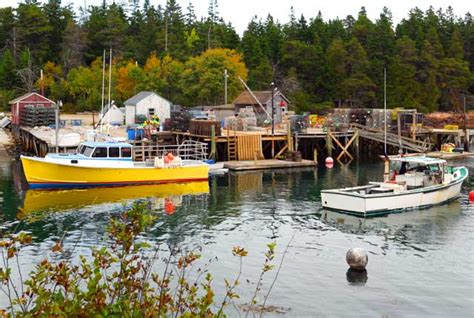 Lobster Boat Docking by Downeast Acadia Photos Etravelmaine