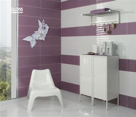 carrelage sol salle de bain cuisine et terrasse mural gloss lila 24 2x68 5 cm carrelage
