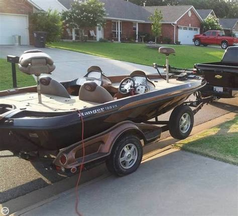 Bass Boats For Sale Oklahoma Facebook by 2008 Used Ranger Boats 188vx Bass Boat For Sale 22 500