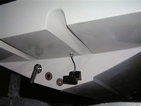 Install Drain Plug Fiberglass Boat by Changing Io Water Pick Up To Bottom Of Boat The Hull