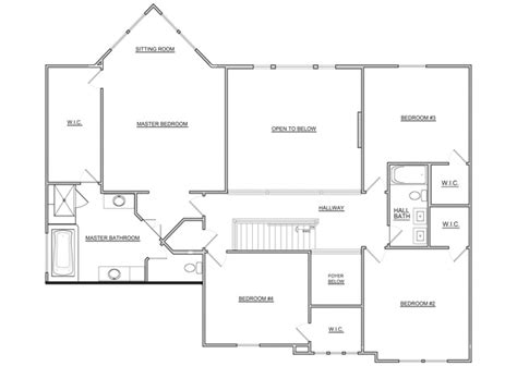 fischer homes 2nd floor floor plan 2012 bia parade of