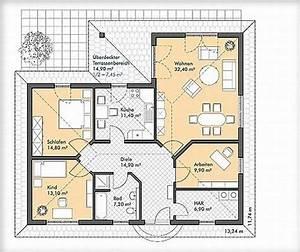 Grundriss Bungalow 100 Qm : bildergebnis f r grundrisse winkelbungalow 100 qm living pinterest bungalow and house ~ Markanthonyermac.com Haus und Dekorationen