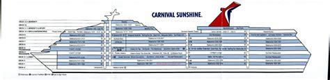 carnival cabin carnival deck plan