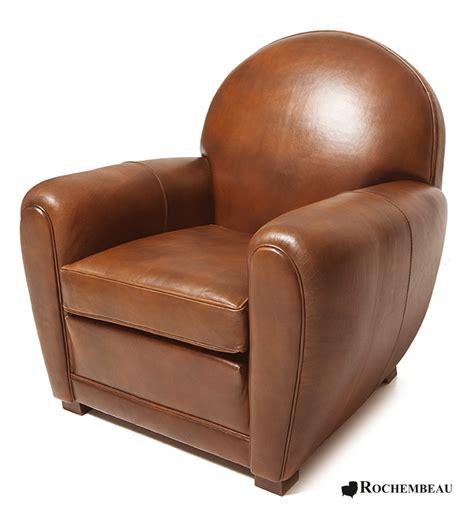 fauteuil club newquay fauteuil club en cuir basane rochembeau