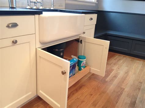 custom white cabinets with farmhouse sink pull out kitchen sink for storage kitchen