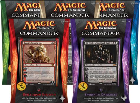 mtg product review commander 2014 gift box