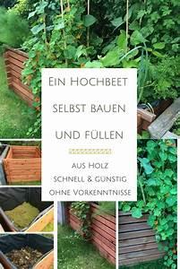 Hochbank Selber Bauen : ein hochbeet aus einem komposter bauen und bef llen anleitung mit bildern ~ Markanthonyermac.com Haus und Dekorationen