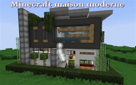 minecraft construire une maison moderne 233 quipement de maison