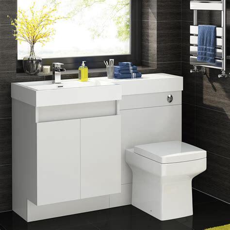 1200mm complete l shape bathroom suite with square toilet