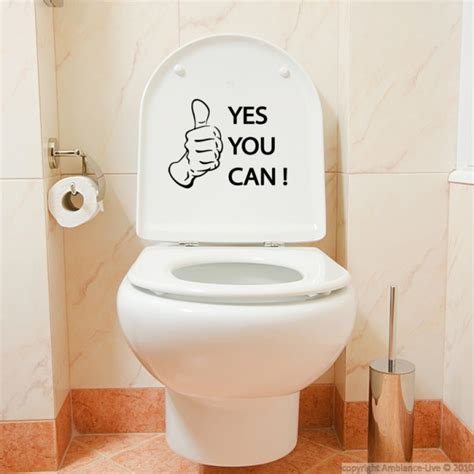 d 233 co quand l humour s invite aux toilettes deco ambiance decoambiance stickers toilettes