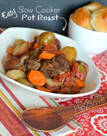 easy cooker pot roast recipe hip2save