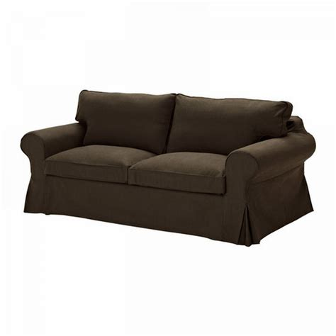 Ektorp Chair Cover Svanby Gray by Ikea Ektorp Sofa Bed Slipcover Sofabed Cover Svanby Brown