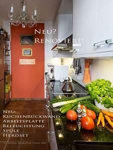 Küche Farbe Wand : alte kueche wie neu kuechenrenovierung ~ Markanthonyermac.com Haus und Dekorationen