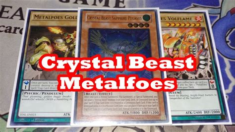 beast metalfoes yugioh deck profile 2016