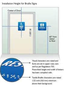 9 best photos of signage mounting height regulations ada sign height requirements bathroom
