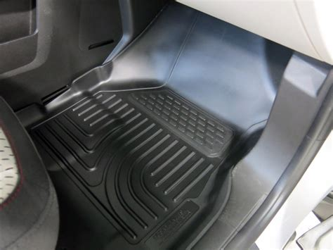 husky liners weatherbeater custom auto floor liners front and rear black husky liners floor