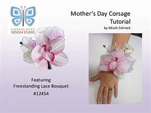 Mother's day corsage tutorial eds