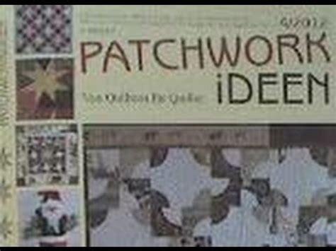 Quilt Patchwork Ideen 4 2012 Wmv Youtube
