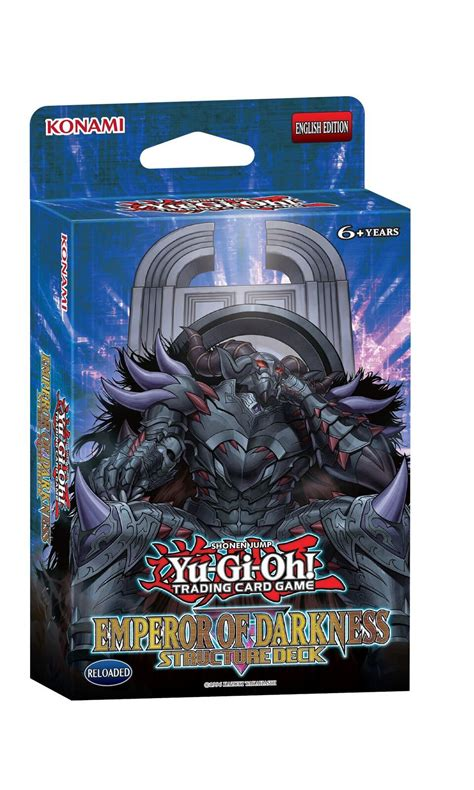 Yugioh Monarch Structure Deck by Yu Gi Oh Emperor Of Darkness Structure Deck At Mighty