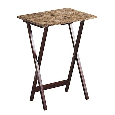 folding tray tables big lots folding snack tables costa home