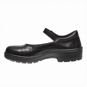 Darine Ladies S1 SRC Quality Black Leather Fashionable ...