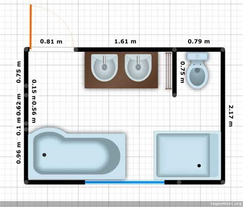 plan salle de bain 5m2 le havre design