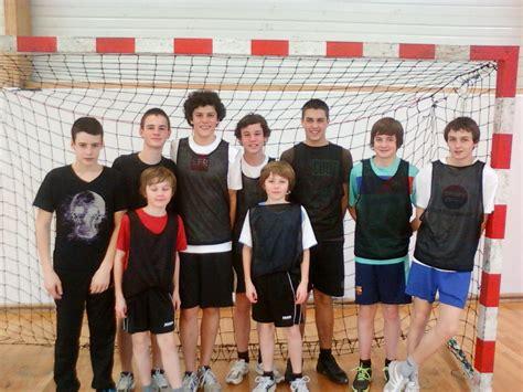 r 233 sultats 1 2finales d 233 partementales handball site du coll 232 ge jean rostand