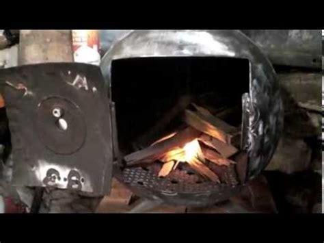 premier feu du po 234 le 224 bois fait dans une bouteille de gaz