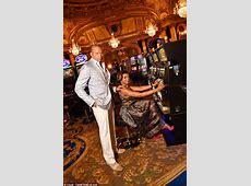 Taraji P Henson at Monte Carlo casino with costar