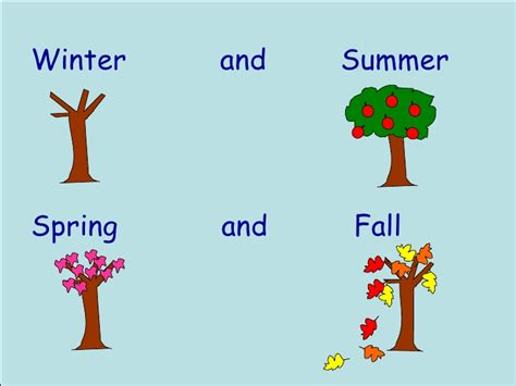 Preschool Four Seasons