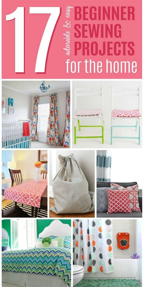 17 Adorable And Easy Beginner Sewing Projects For The Home