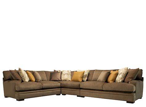 fontaine 4 pc microfiber sectional sofa ask home design