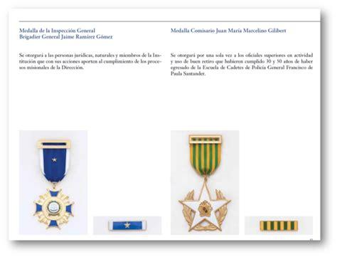 momentos de historia de la polic 237 a nacional de colombia g 233 nesis de las condecoraciones en la