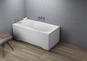 Badewanne 120 Cm : badewanne wanne rechteck 120 x 75 cm sch rze ablauf bergholz ~ Markanthonyermac.com Haus und Dekorationen