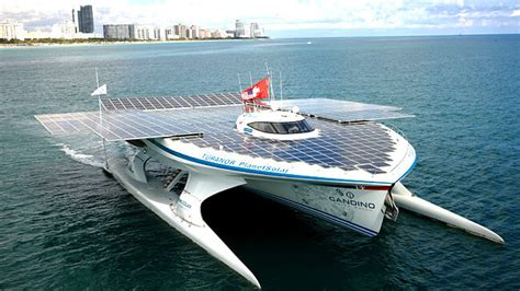 Round Electric Boat by Using Solar Power To Run Electric Boats Metaefficient