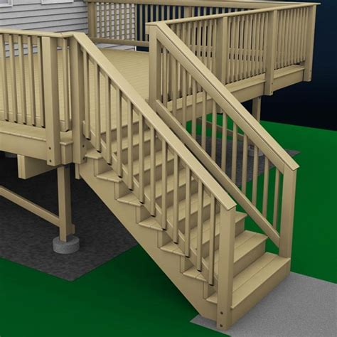 how to build a deck wood stairs and stair railings exterior stair railing height a more decor