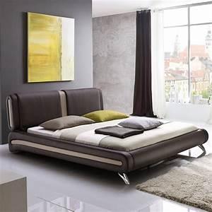 Günstige Betten Mit Matratze Und Lattenrost 160x200 : polsterbett komplett malin bett 160x200 braun lattenrost matratze wohnbereiche schlafzimmer ~ Markanthonyermac.com Haus und Dekorationen