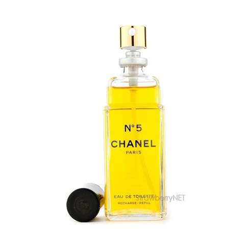 chanel no 5 eau de toilette spray refill 100ml 3 3oz ebay