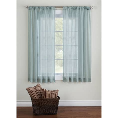 striped sheer curtain panels rooms