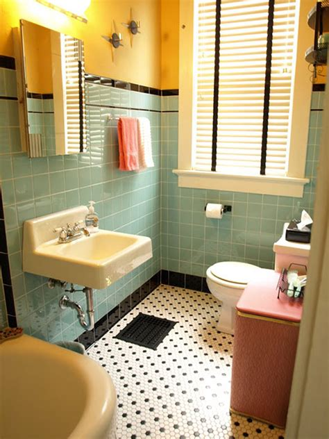 kristen and paul s 1940s style aqua and black tile bathroom built from scratch retro renovation