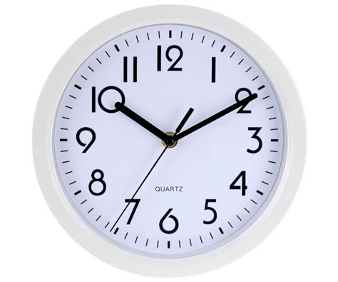 horloge pendule murale design city quartz blanc