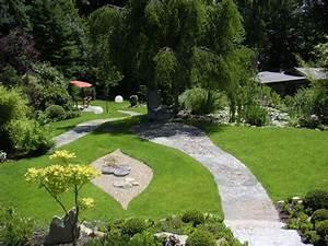 Gartengestaltung Feng Shui : feng shui garten eines einfamilienhauses unter ber cksichtigung des altbestands der pflanzen ~ Markanthonyermac.com Haus und Dekorationen