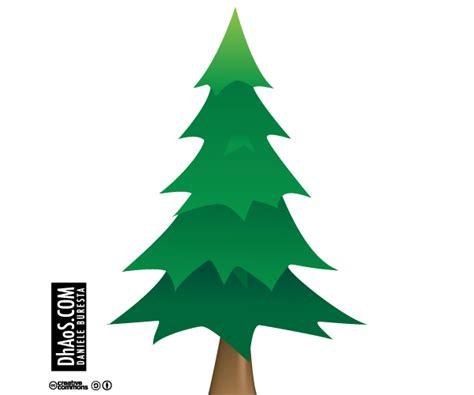Christmas Tree Vector Image Free Download