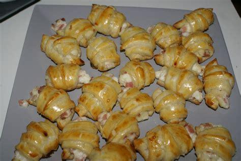 mini croissants a la bechamel aux plaisirs culin air de