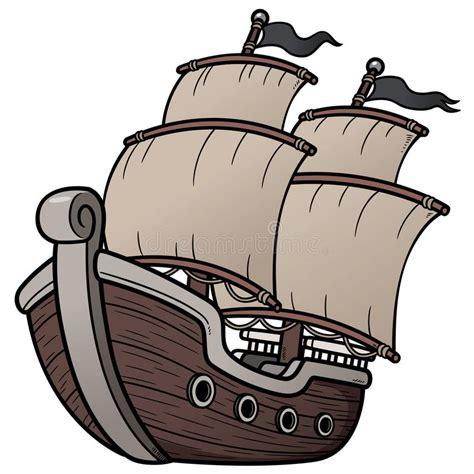 Barco Pirata Ilustracion by Barco Pirata Ilustraci 243 N Del Vector Ilustraci 243 N De Barco