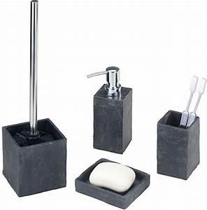 Bad Accessoires Set Grau : bad accessoires set angebote auf waterige ~ Markanthonyermac.com Haus und Dekorationen