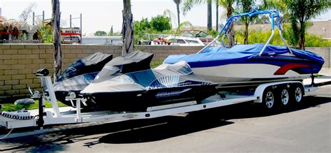 Seadoo Boat Combo by Boat And Jet Ski Combo Trailer Ca Shadow Trailers